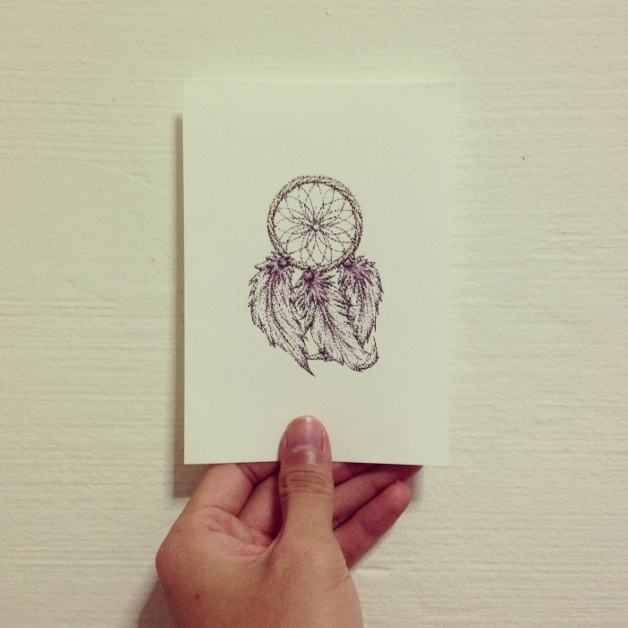 Illustration; DreamCatcher Stippling